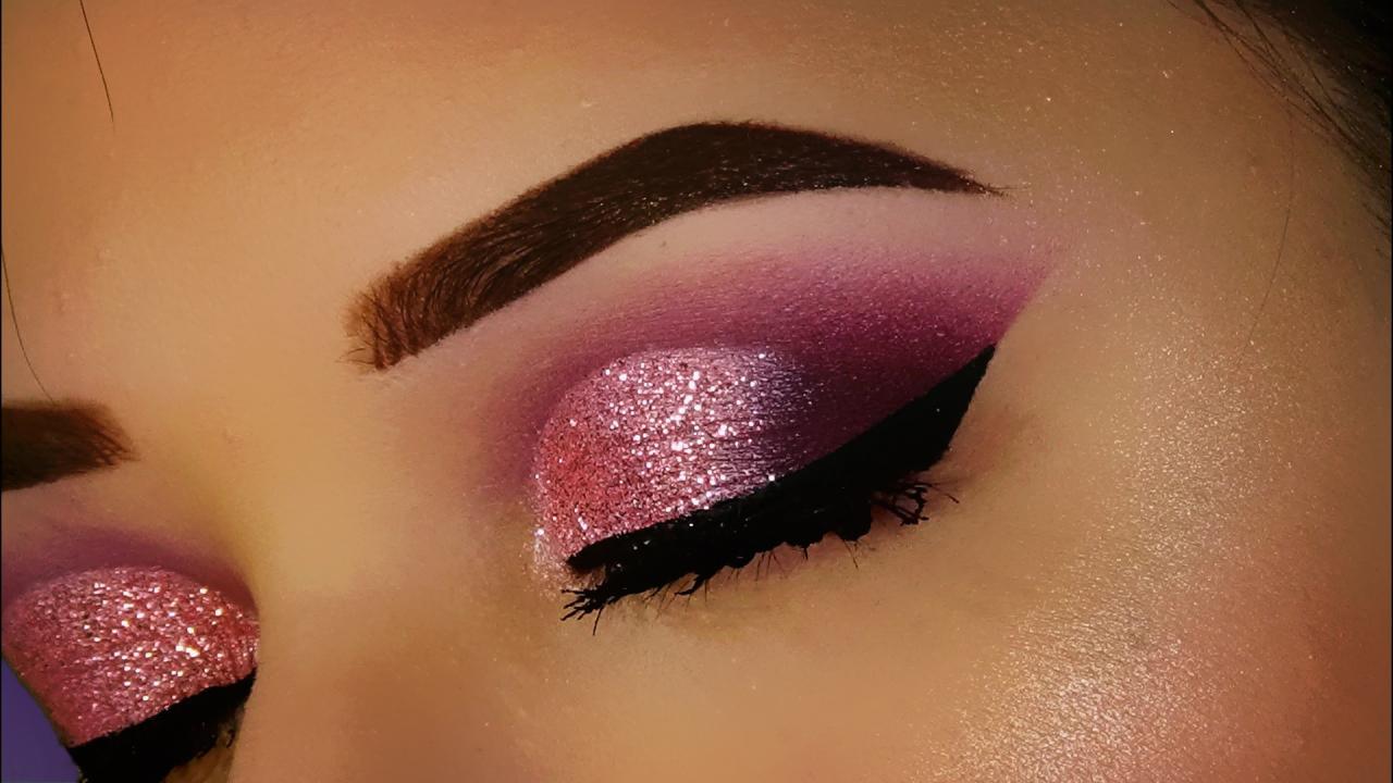 maxi eye liner e ombretti colorati